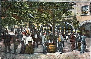 Postkarte, datiert 24.4.1918. Beschriftung: &q...