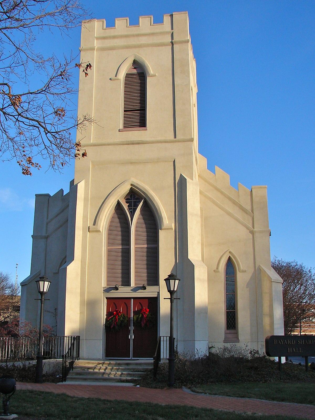 St Thomas Episcopal Church Newark Delaware Wikipedia