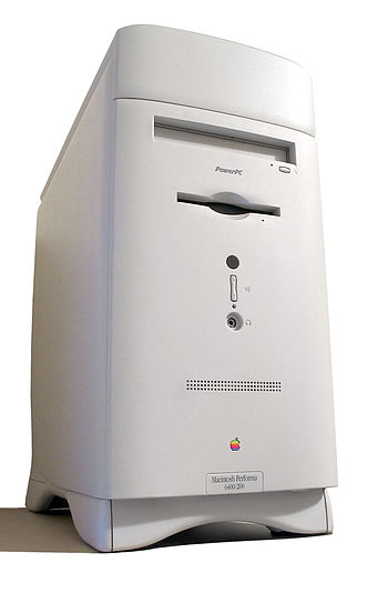 A Macintosh Performa 6400, one of the few Perf...