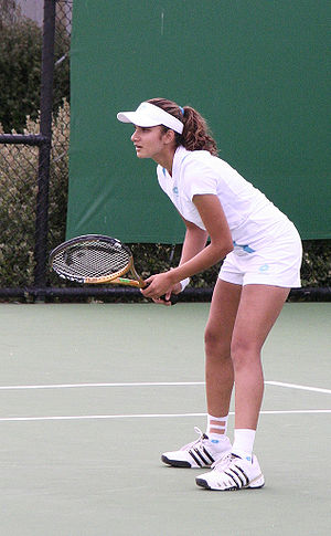 Sania Mirza at the 2007 Australian Open