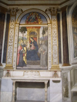 Santa maria del polpolo, pinturicchio 2