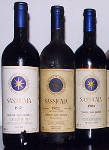 Image result for sassicaia