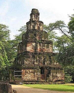 Satmahal Prasada, Polonnaruwa, Sri Lanka