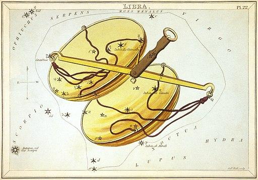 Sidney Hall - Urania's Mirror - Libra