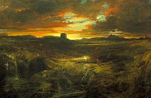 Childe Roland to the Dark Tower Came painted b...