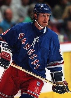 Wayne Gretzky, New York Rangers.