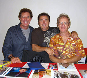Actors Barry Williams, Christopher Knight and ...