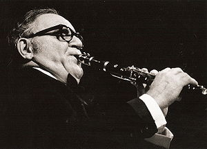 English: Benny Goodman in concert 1971