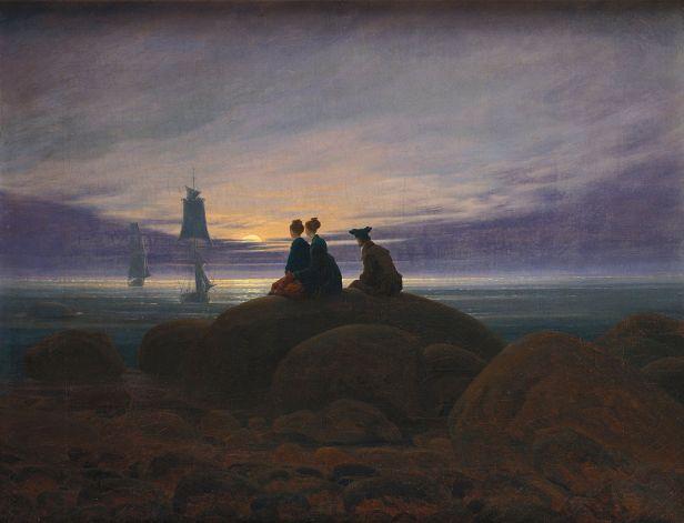 """""""Moonrise by the Sea"""" by Caspar David Friedrich"""