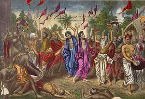 English: Sri Chaitanya Mahaprabhu, who was bor...