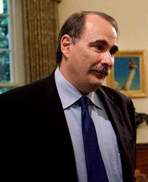 Senior advisor David Axelrod during a meeting ...