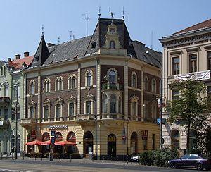English: Debrecen - McDonald's