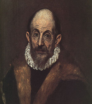 El Greco self-portrait, 1604