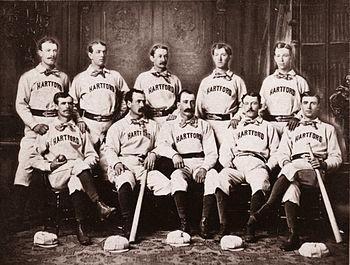 1875 Prescott & White CDV Hartford Dark Blues