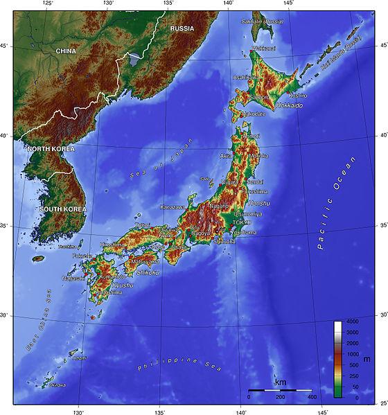 Tiedosto:Japan topo en.jpg