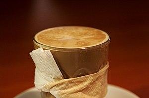 A café Latte.