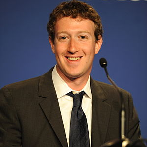Mark Zuckerberg, Founder & CEO of Facebook, at...