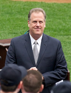 English: Yankees broadcaster Michael Kay.