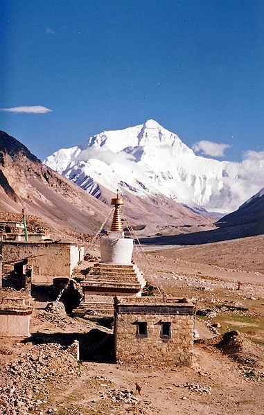 Tập tin:Mount Everest from Rombok Gompa, Tibet.jpg