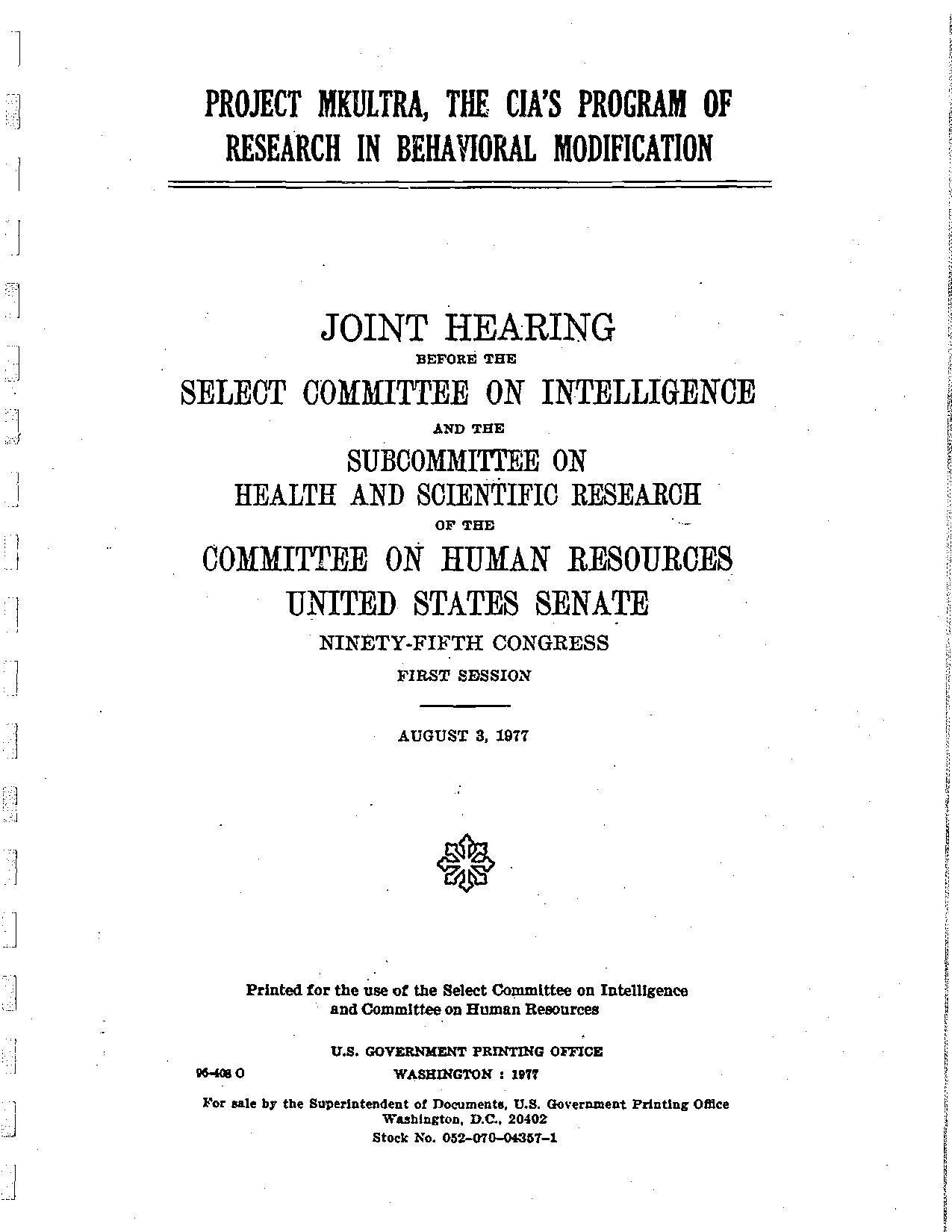 File Projectmkultra Senate Report
