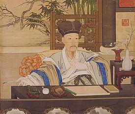 Imperatore Qianlong di Giuseppe Castiglione (XVIII secolo)