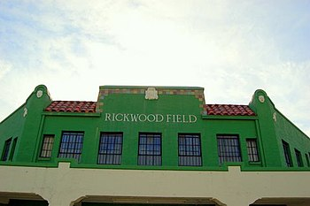 USA's oldest surviving baseball park here in B...