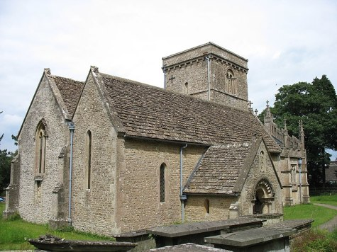 St Giles church, Stanton St Quintin