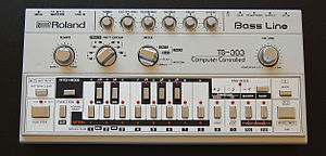 English: TB303 front view