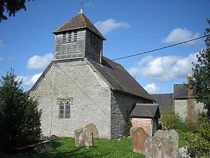 English: The Church at Acton Round