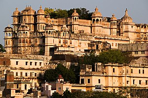 Udaipur/Rajasthan/India City Palace