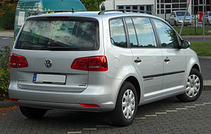 VW Touran II. Facelift