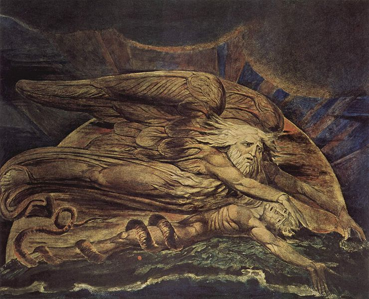 William Blake, Elohim creando a Adan
