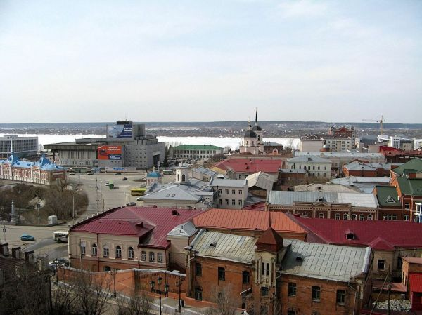 File:Томск, ул. Бакунина и пл. Ленина.jpg - Wikimedia Commons
