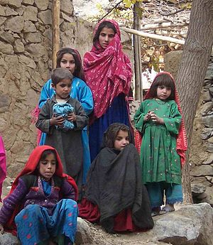 children in Afghanistan