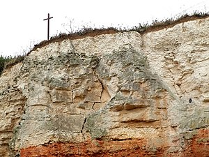 English: Cliff Edge, Hunstanton I thought this...