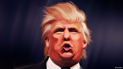 Donald Trump Caricature by DonkeyHotey