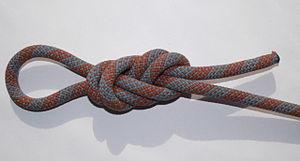 Double figure-eight knot.