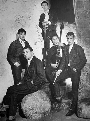 An early publicity shot of Eric Burdon and the...