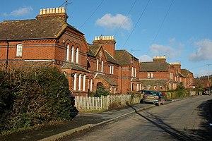 English: Houses at Moorhampton