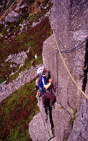 Rocky mountains tend to be hazardous. Rock cli...
