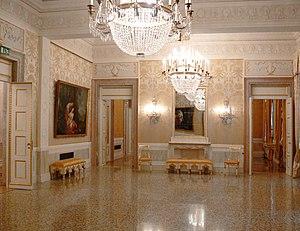 One of the foyers, Teatro La Fenice, Venezia, ...