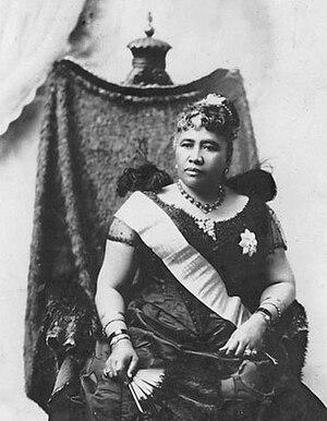 Queen Liliuokalani license