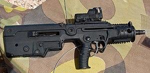 English: IWI Micro-Tavor MTAR-21 bullpup assul...