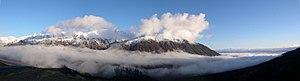 English: Mountains from Hatcher Pass (Alaska)