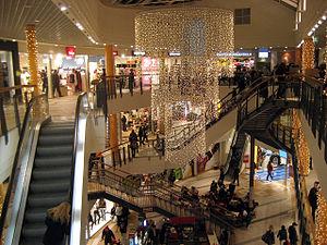 Oskargallerian, a shopping mall in Örnsköldsvi...
