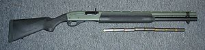 Remington 1100 Tactical Shotgun with 8 rounds ...