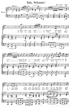 First page (of two) of the sheet music to &quo...