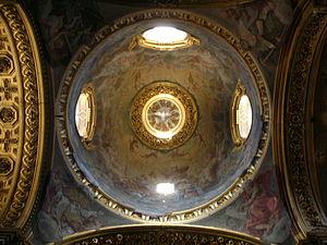 the Dome, Santa Maria Maddalena, Rome