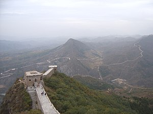 Great chinese wall atSimatai