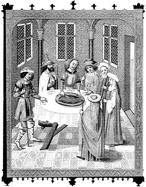 """""""The Jews' Passover""""—facsimile of a ..."""